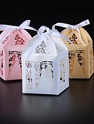 50 Stück / Set Geschenke Halter-Quader Perlenpapier Geschenkboxen Nicht personalisiert