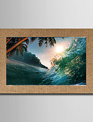 The Explosion Of Linen Inkjet Printing Art Office Living Room Hotel Decorative Murals Leisure Deach