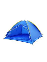 3-4 Personen Zelt Einzeln Familien Zelte Einzimmer Camping Zelt Polyester Atmungsaktivität-Wandern Camping Reisen Draußen