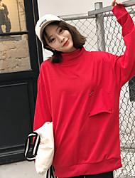 firmare 2017 versione coreana del raffinato e un collare mezzo di altezza copertura maglione afflusso di studenti di sesso femminile nella