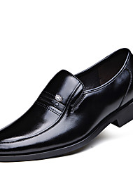 Men's Fashion Business Pointed Toe Faux/PU Leather Shoes