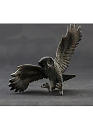 Figurines d'Action & Animaux en Peluche Modèle d'affichage Maquette & Jeu de Construction Jouets Nouveautés Animaux Plastique NoirPour