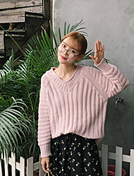 реальный выстрел! женщины&# 39, S короткий параграф корейская версия пуловеры свитер пальто грунтовки рубашку свитер