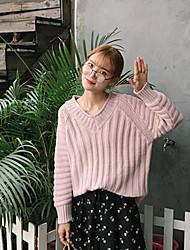real shot! Frau&# 39; s kurzen Absatz koreanische Version Pullover Pullover Mantel Primer Shirt Pullover