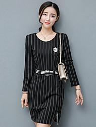 Sign 2017 spring new women's high-end dress temperament big luxury brand ladies