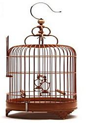 птица Гнёзда Бамбук Коричневый