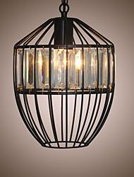 Modern Fashion Crystal Lamp Single Chandelier Creative Cafe Bar Room Decoration Lighting