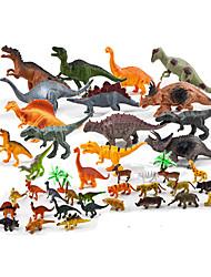 Bonecos & Pelúcias Modelo de Apresentação Modelo e Blocos de Construção Brinquedos Novidades Dinossauro Plástico Arco-Íris Para Meninos