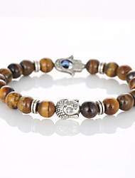 European And American Fashion Beaded Bracelet Natural Rock Head Hand Bracelet