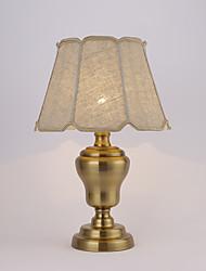 60 Rustique / Campagnard Lampe de Bureau , Fonctionnalité pour Protection des Yeux , avec Laiton Antique Utilisation Interrupteur ON/OFF