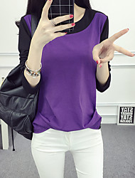 Sign 2017 spring new women bottoming spring clothing Ms. Slim long-sleeved T-shirt influx of female students