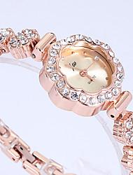 Relógio de Moda Quartzo Lega Banda Dourada Dourado