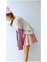 signer chandail stock # version coréenne couleur sort col rond en tricot