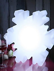 Snowflake modeling lights Christmas chandeliers decorative lights Creative charge night light remote control