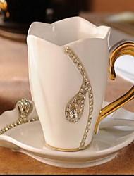 Clássico Artigos para Bebida, 200 ml Dom namorado presente namorada Cerâmica Café Leite Canecas de Café