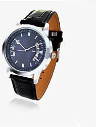 Casal Relógio de Moda Relogio digital Quartzo Digital Couro Legitimo Banda Casual Preta Branco Vermelho Branco Preto Vermelho