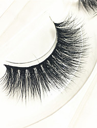 3D mink Eyelashes lash Full Strip Lashes Eyes Thick Lifted lashes Volumized Handmade Animal wool eyelash Black Band
