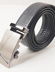 Masculino Cinto para a Cintura Festa Trabalho Casual Liga PVC Masculino
