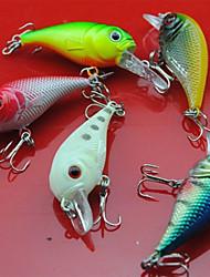 5 Stück Harte Fischköder Zufällige Farben 5 g Unze mm Zoll,Metall Kunststoff Angeln Allgemein