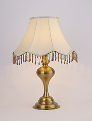 Rustic/Lodge Desk Lamp  Feature for Eye Protection  with Antique Brass Use On/Off Switch Switch