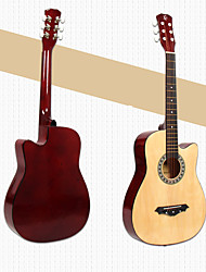 Guitar Gloss String Musical Instrument Case Folk wood guitar