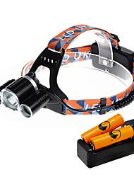 Lampes Frontales LED 5000 Lumens 4.0 Mode Cree XP-G R5 Cree XM-L T6 18650 Taille CompacteCamping/Randonnée/Spéléologie Usage quotidien