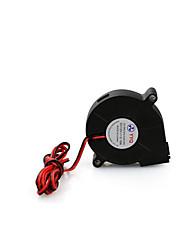 Anet 5015 turbo ultra silencieux petit ventilateur - noir