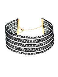 Women's Choker Necklaces Statement Necklaces Jewelry Lace Jewelry Fashion Personalized Euramerican Statement Jewelry Black JewelryDaily