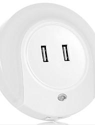 intelligent lysstyring førte hjem indretning dobbelt usb oplader bedside vågelampe