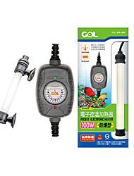 Aquarium Chauffages Contrôle manuel de la température 50, 100W220V