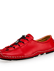 Fashion Men Shoes Summer Cool Winter Warm Real Leather Shoes Men's Flats Shoes Mens casual Oxford Doug Shoe Men