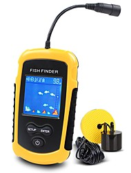 Hot Sale Alarm 100M Portable Sonar Colorful LCD Fish Finders Fishing lure Echo Sounder Fishing Finder