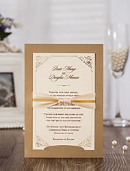 Personalizado Cartão Raso Convites de casamentoBachelorette Party Cartões Conjuntos de Convites Cartões Pré-Convite Envelope Etiqueta do