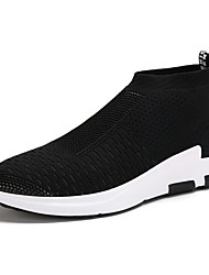 Men's Shoes Libo New Style Hot Sale Casual / Outdoors Comfort Platform Fashion Sneakers Black
