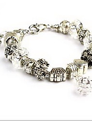 Bracelet Chain Bracelet Crystal Others Natural Fashion Party Birthday Gift Jewelry Gift White,1pc