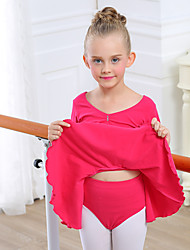 Ballet Outfits Children's Training Cotton Spandex 2 Pieces Top Pants