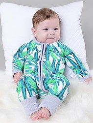 Baby Newborn Fashion Cute The  Printing Print Out Conjoined Rompers Clothes  Climb Clothes