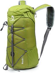 32 L Rucksack Camping & Wandern Klettern Reisen Draußen Leistung Wasserdicht Regendicht Wasserdichter Verschluß Grün Rot Blau Purpur Nylon