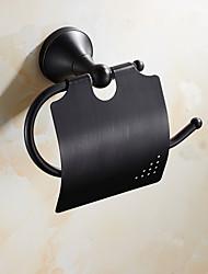 Toilet Paper Holder / Oil Rubbed BronzeBrass /Antique