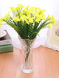 1 Une succursale Plastique Orchidées Fleur de Table Fleurs artificielles 20*20*32