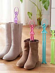 1Pcs  Girl Ballet Scalable Tree Shoes Table Shoe Rack Long Boots Stays Folder Color random