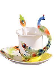 Nouveautés Classique Aller Articles pour boire, 230 ml Athermiques Céramique Café Lait Mugs à Café
