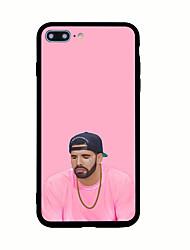 Pour Motif Coque Coque Arrière Coque Punk Dur Acrylique pour AppleiPhone 7 Plus iPhone 7 iPhone 6s Plus iPhone 6 Plus iPhone 6s iphone 6
