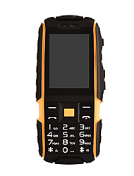 DT NO.1 A9 English Keyboard IP67 Waterproof Shockproof PhoneDual SIM Card4800mAhFM(Black/Yellow)
