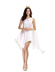 White Greek Goddess Cosplay Costumes Cute Roman Princess Costume Athena Costume Halloween for Women