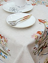 Square Embroidered TableCloth For Sale Embroidery Tablecloth Classical Tablecloth Christmas Tablecloth 85*85cm