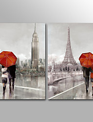 Canvas Print Abstract Modern,Two Panels Canvas Vertical Print Wall Decor For Home Decoration