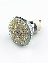 2w gu10 led spotlight 60 plomb led 200 lm blanc chaud ac220 décoratif v 1 pcs