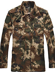 Unisex Tops Hunting Windproof Comfortable Spring Fall/Autumn Winter Camouflage