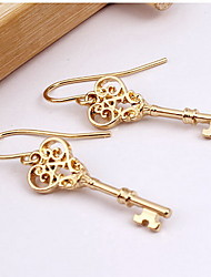 Non Stone Drop Earrings Earrings Set Jewelry Daily Casual Alloy 1 pair Coppery Yellow Gold